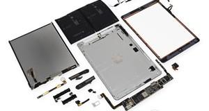 Das neue iPad Air in seinen Einzelteilen