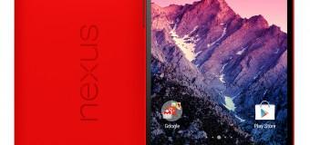 LG und Google kündigen rotes Nexus 5 an