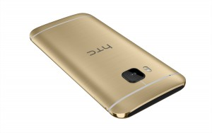 HTC One M9_Gold_Back