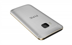 HTC One M9_Silver_Back