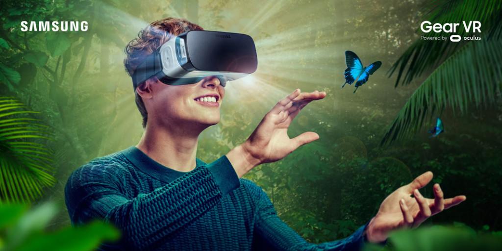 Gear-VR-Werbebild